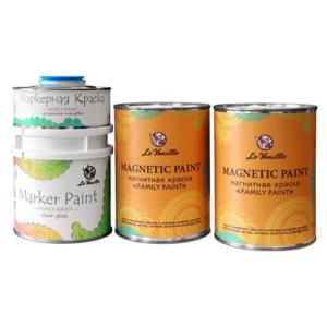 Магнитно-маркерная краска Le vanille Family Pant
