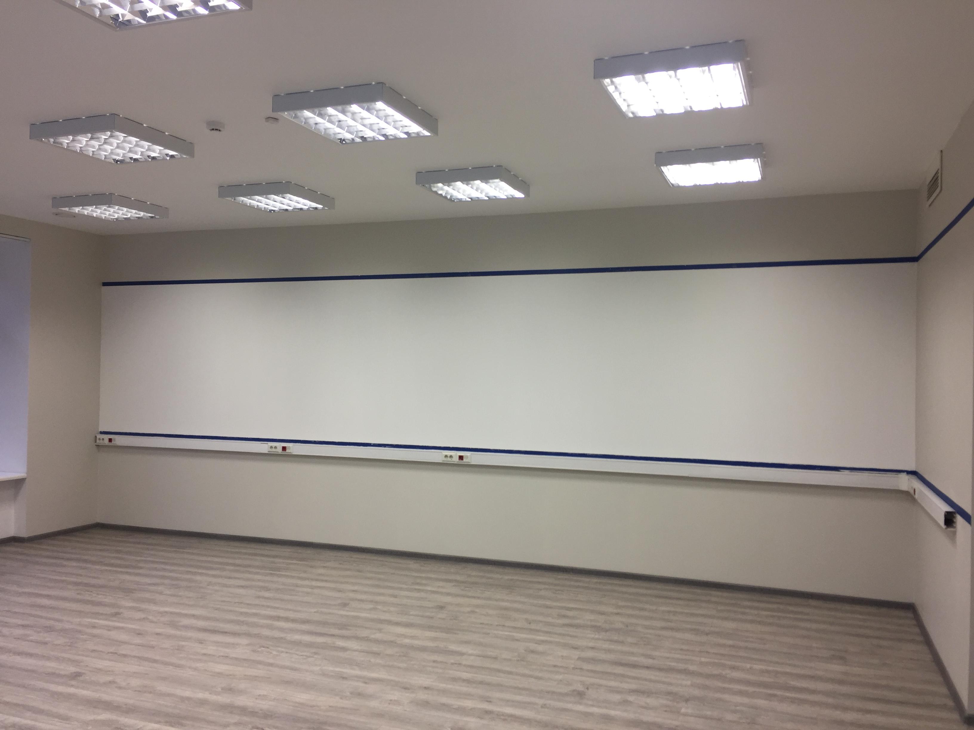 Маркерная стена в офисе ИНГОССТРАХ 9м2