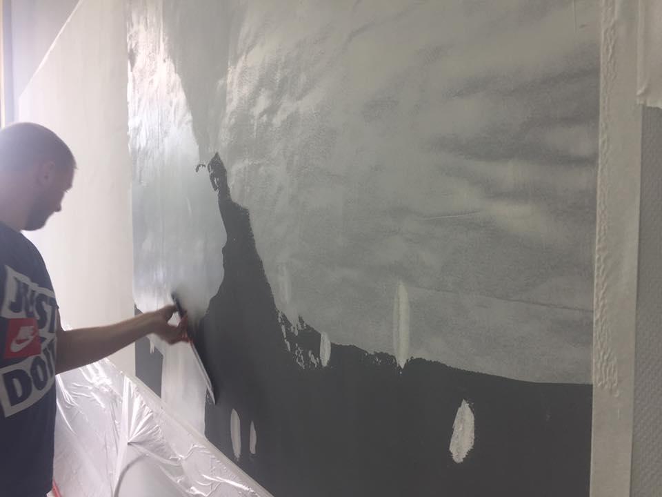 Нанесение магнитной краски