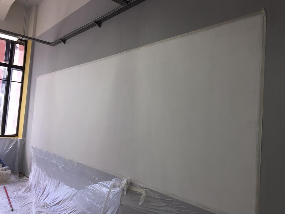 Магнитно маркерная стена