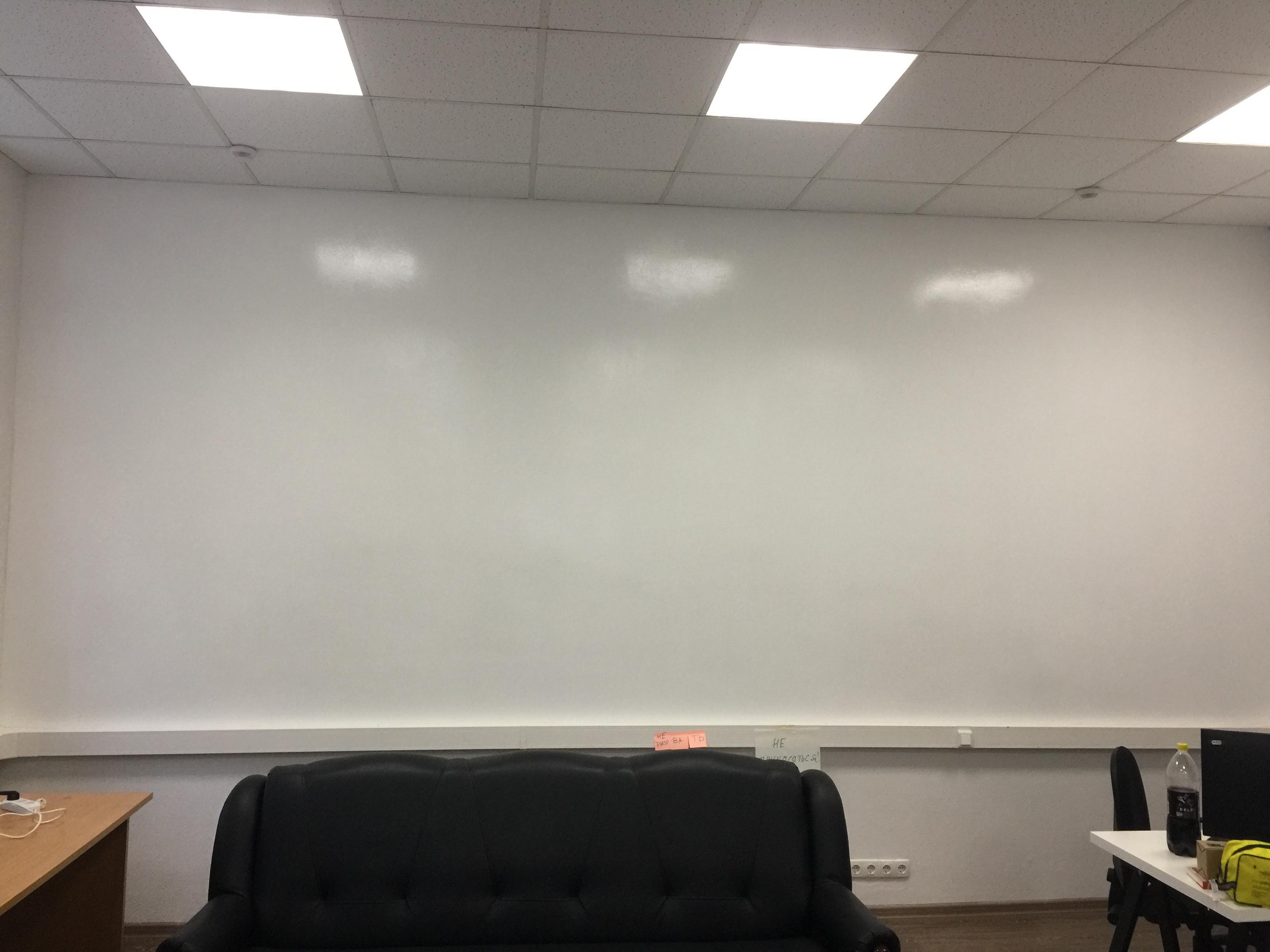 Готовая переделана стена магнитно-маркерная стена