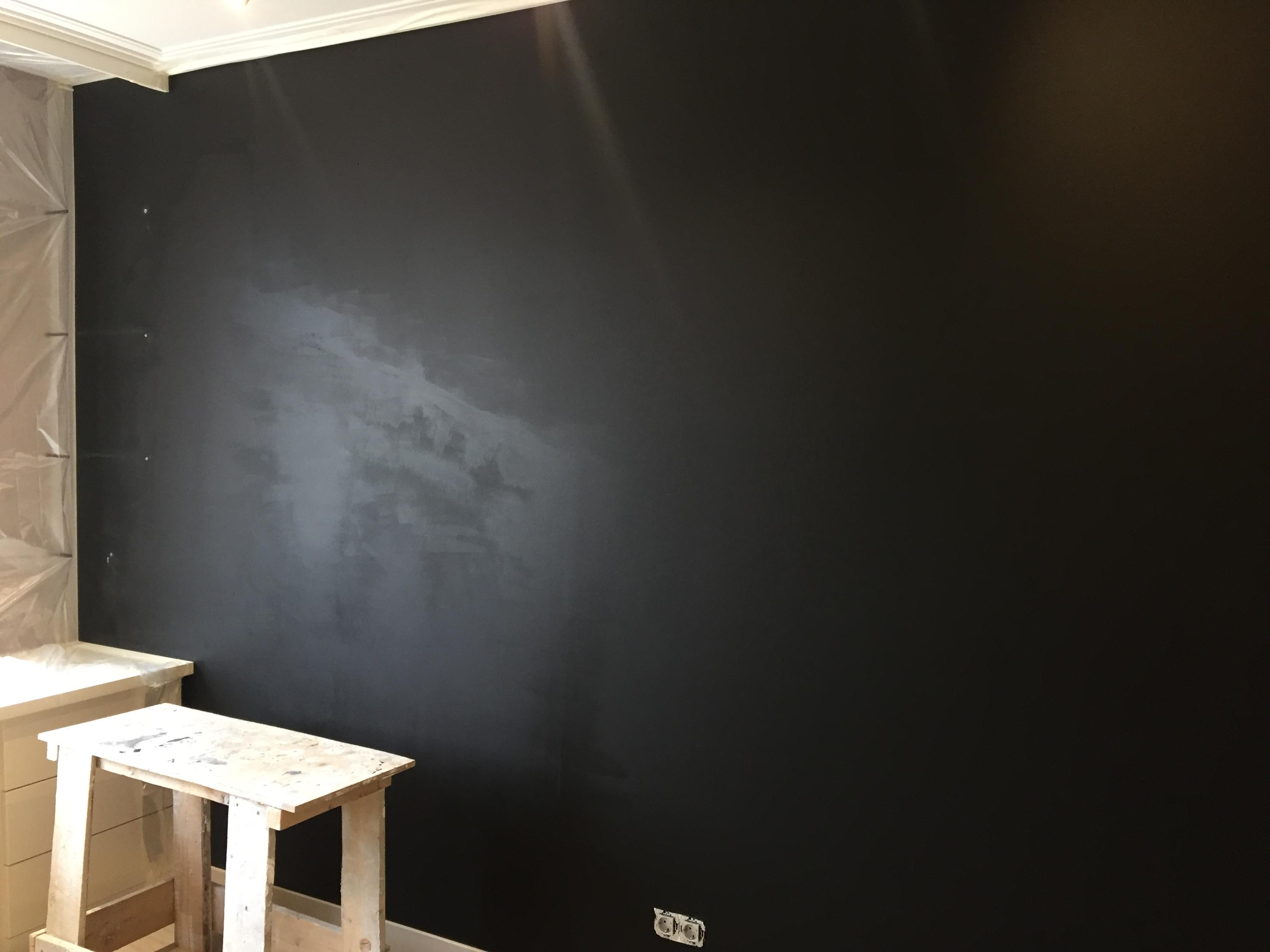 Испорченная грифельная стена