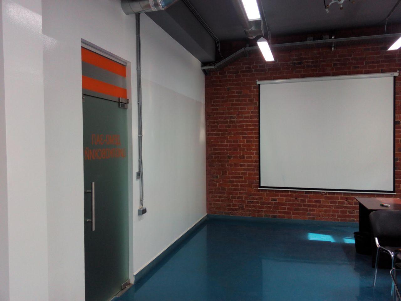 Обновили стену белой маркерной краской Le Vanille PRO