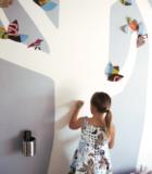 Маркерная краска в детской комнате