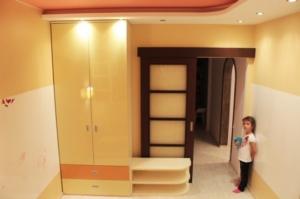 Маркерная стена в детской комнате