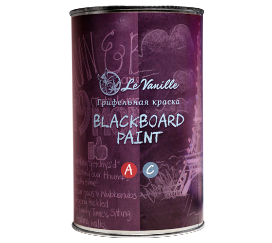 Грифельная краска Le Vanille