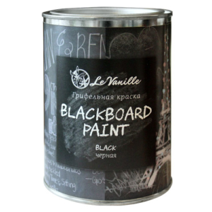 Грифельная краска Le Vanille Черная