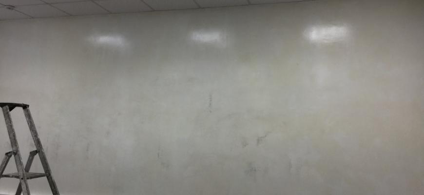 Испорченная маркерная поверхность