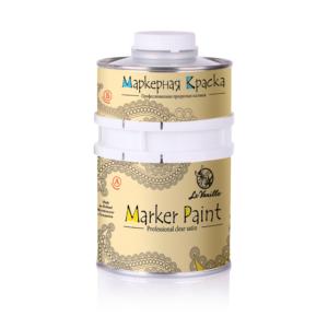 Матовая маркерная краска Le Vanille Satin PRO
