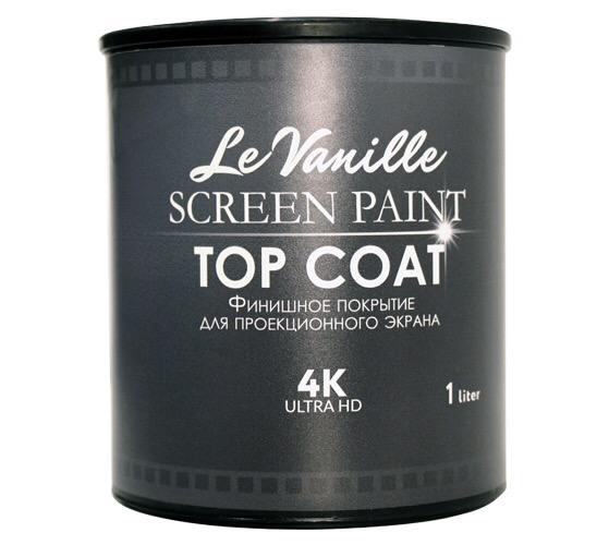 Финишное покрытие для проекционной краски