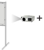Краска обратной проекции для проектора