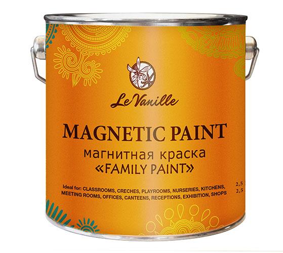 Магнитная краска Le Vanille FP