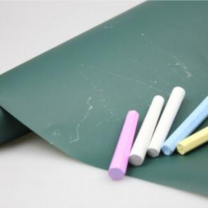 Зеленая магнитно меловая пленка